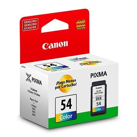 Cartucho Canon CL-54 | E461 Pixma Colorido Original 6,2ml