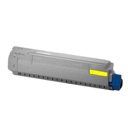 Toner para Okidata C831dn   C841cdtn   44844509 Amarelo Compatível