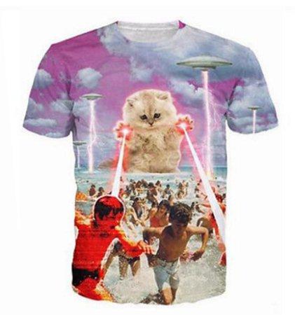 camiseta bye humans