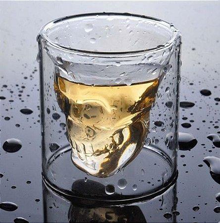 copo para shot caveira