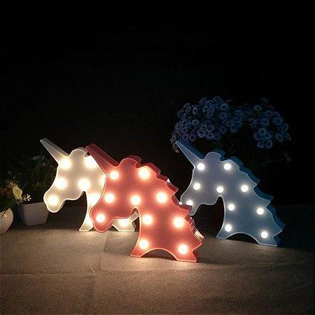 Luminária Unicórnio Branca