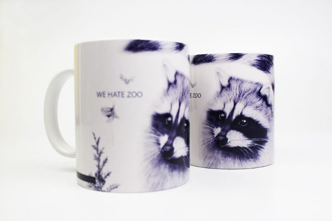 caneca we hate zoo