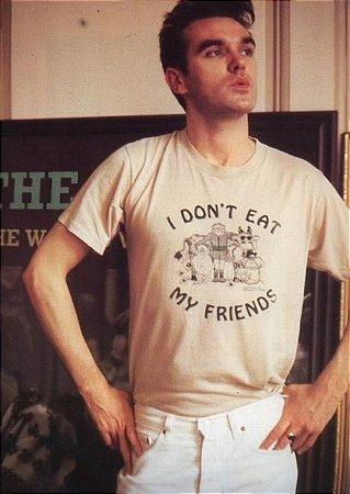 camiseta inspiração morrissey