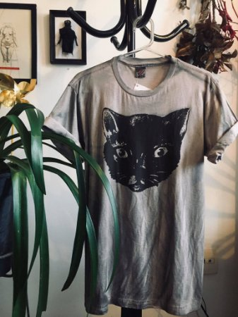 camiseta tingimento artesanal tam M