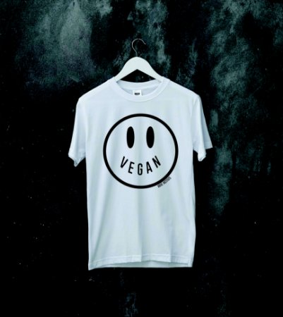 camiseta happy vegan
