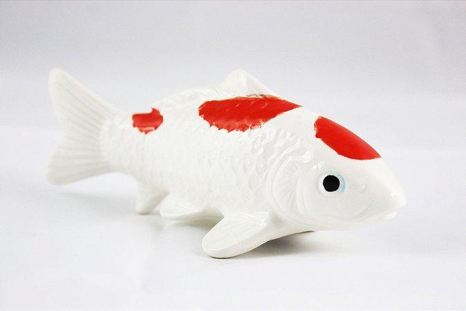 Peixes Decorativos em Porcelana