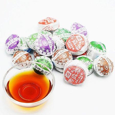 Chá PU Erh - Flor de Pêssego
