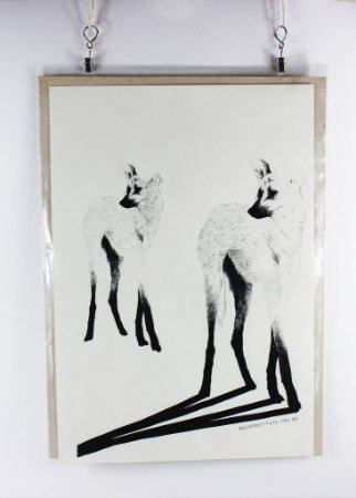 gravura em serigrafia - Heitor Satyro