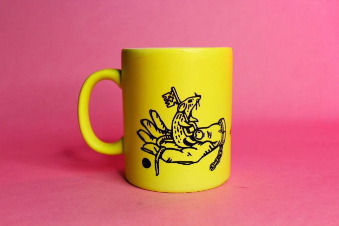 caneca fluor be kind to animals
