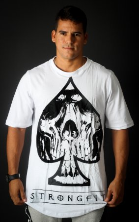CAMISETA  MONSTER SIZE SKULL NAIPE BRANCO