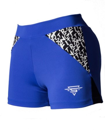 SHORT SF BLUE & BLACK
