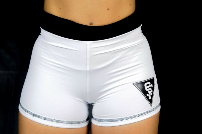 SHORT CROSS SF BRANCO
