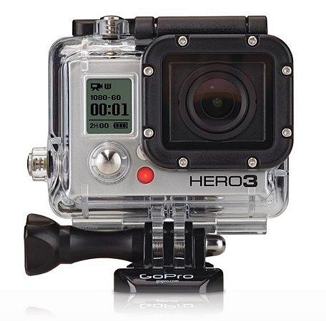 GoPro Hero 3 White Edition 5 MP Full HD com Wi-Fi Embutido - Seminova
