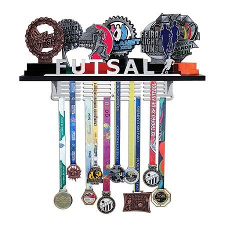 Porta Troféus e Medalhas Futsal Masculino