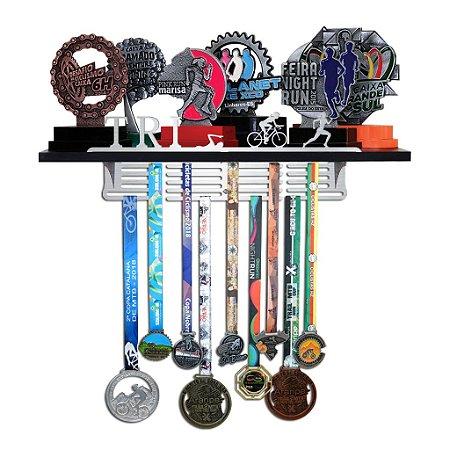 Porta Troféus e Medalhas Triatlo Feminino