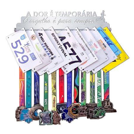 Porta Medalhas e Números de Peito Corrida Masculino