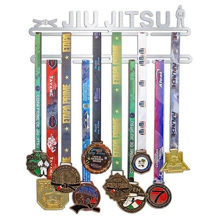 Porta Medalhas Jiu Jitsu Faixa Feminino