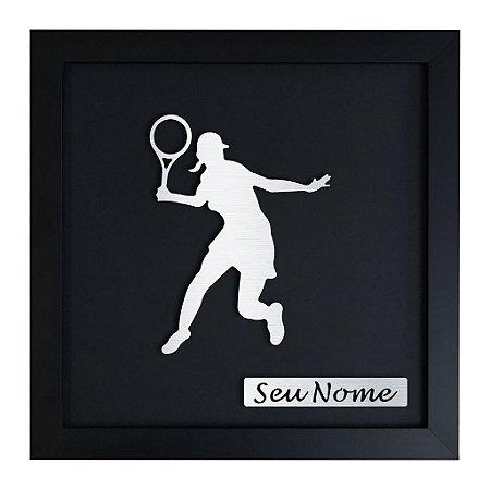 Quadro Decorativo de Tênis Feminino Personalizado