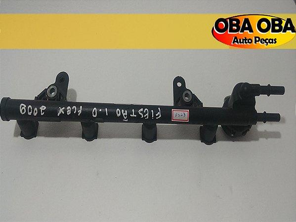 Flauta Bico Injetor Fiesta Ka 1.0 / 2n1u-9d280-db