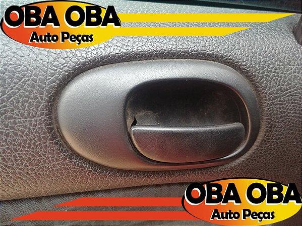 Maçaneta Interna Traseira Esquerda Peugeot 206 1.0 16v Gasolina 2003/2003