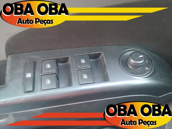Botão de Vidro Dianteira Esquerda Sonic Sedan Ecotec 1.6 16v Flex 2012/2013