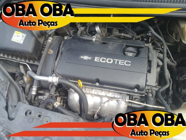 Motor Parcial Sonic Sedan Ecotec 1.6 16v Flex 2012/2013