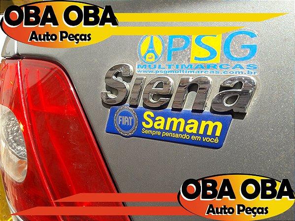 Emblema da Tampa SIENA Fiat Siena Fire Flex 1.0 2007/2007