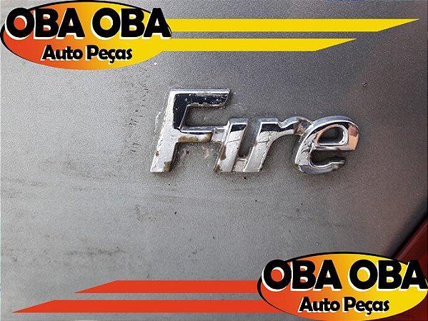 Emblema Da Tampa Fire Siena Fire Flex 1.0 2007/2007