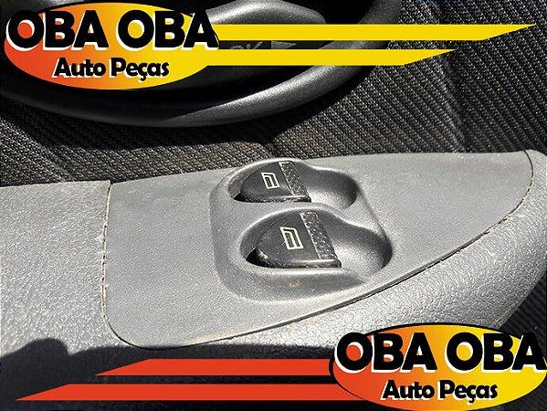 Botão De Vidro Dianteiro Esquerdo Siena Fire Flex 1.0 2007/2007