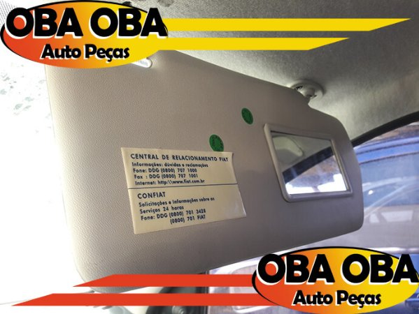 Quebra sol Direito Fiat Siena Fire Flex 1.0 2007/2007
