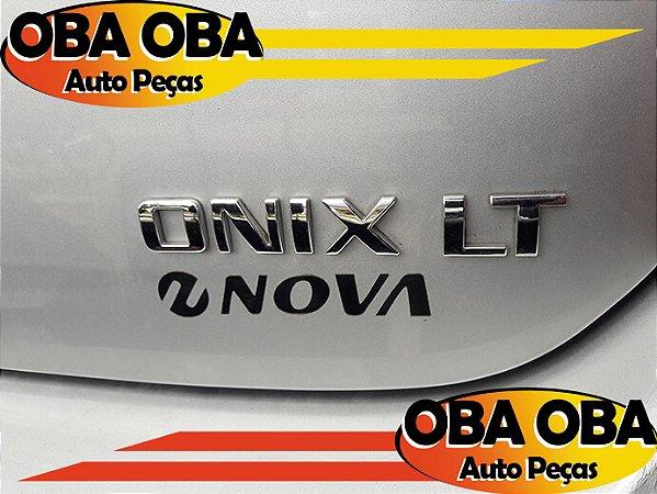 Emblema Da Tampa LT Chevrolet Onix Lt 1.4 Aut Flex 2016/2016