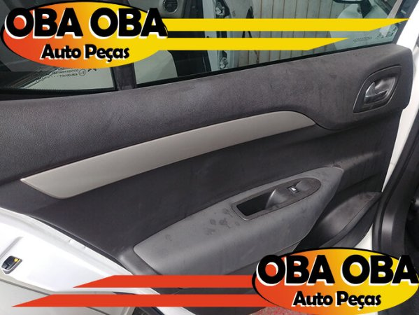 Forro De Porta Traseira Esquerda Citroen C4 1.6 Lounge Thp Aut 2016/2017