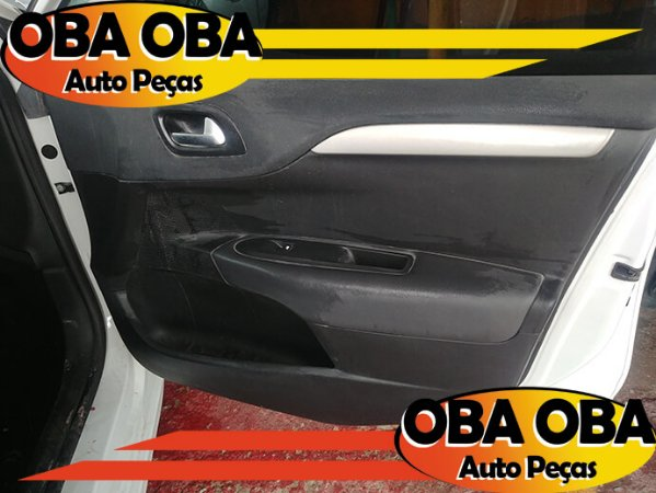Forro De Porta Dianteira Direita Citroen C4 1.6 Lounge Thp Aut 2016/2017