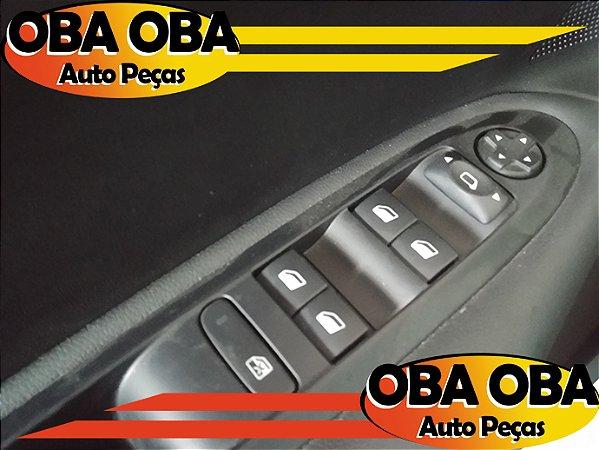 Botão de Vidro Dianteiro Esquerdo Citroen C4 1.6 Lounge Thp Aut 2016/2017