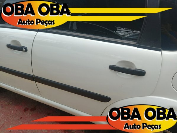 Porta Traseira Esquerda Citroen C3 Glx 1.4 Flex 2011/2012