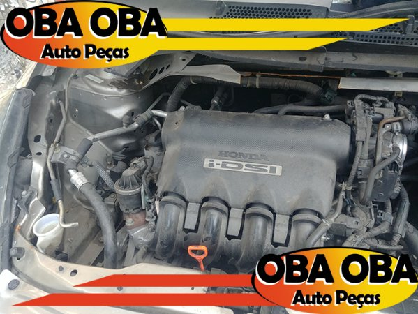 Motor Parcial Honda Fit 1.4 8 Velas 2004/2005