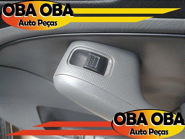 Botão De Vidro Dianteira Direita Honda Civic Lx 1.7 Aut 2001/2002