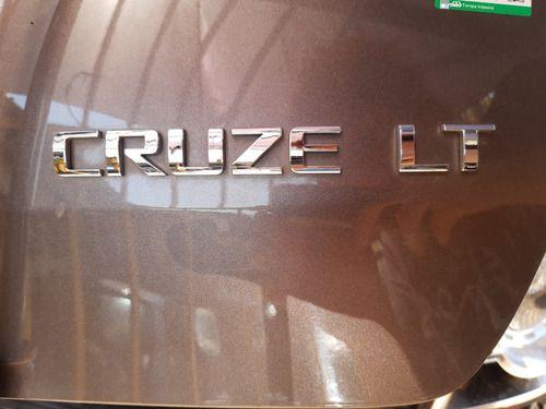 Emblema  Cruze Lt  Chevrolet Cruze Hatch 1.8 15/15