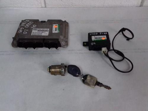 Kit Code Fiat Uno 1.0 Gas. 2004 55184485 6160170401