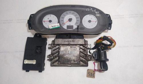 Kit Code Renault Clio/logan/sandero 1.6 16v 2001 Ate 2009