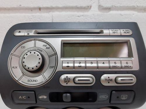 Rádio Original Honda Fit Ex 1.5 Gasolina At 2007/2008