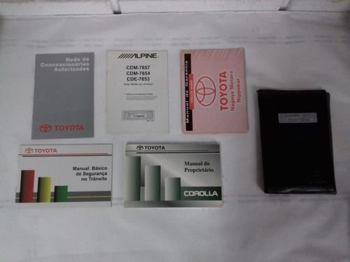 Manual Proprietario Toyota Corolla 1999