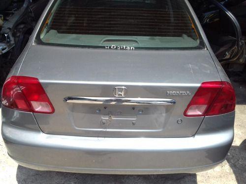 Tampa Traseira Hondaraseira Honda Civic 1.7 2001 2001