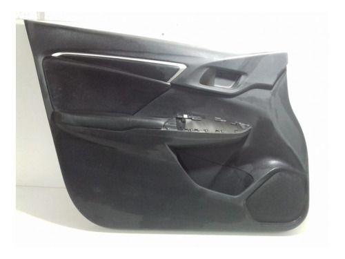 Forro De Porta Diant Esquerdo Honda New Fit Original