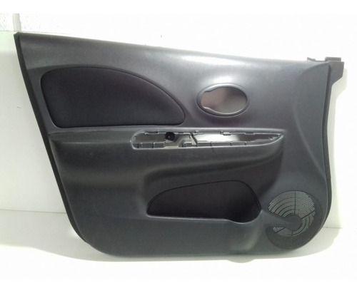 Forro De Porta Diant Esquerdo Nissan March 2012