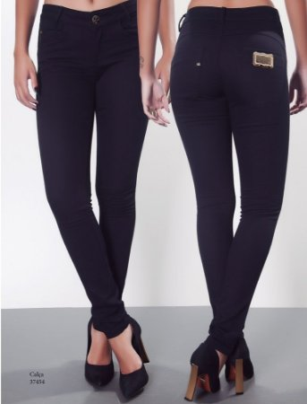 Calça Skinny Black Jeans
