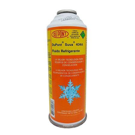 Fluido Refrigerante SUVA R-404A 425Gr - Dupont