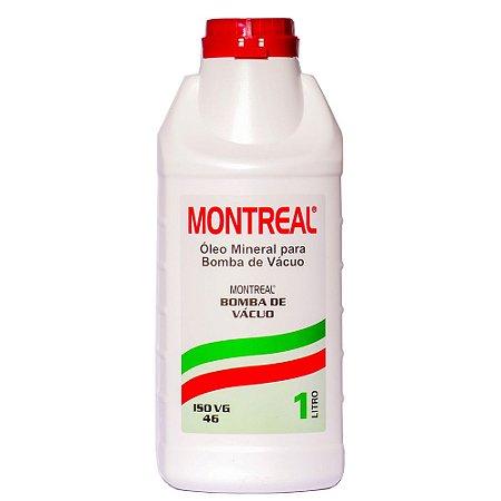 Óleo Mineral para Bomba de Vácuo ISO VG 46 - Montreal
