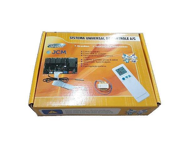 Placa Universal para Ar Condicionado com Controle Remoto QD-U02B+
