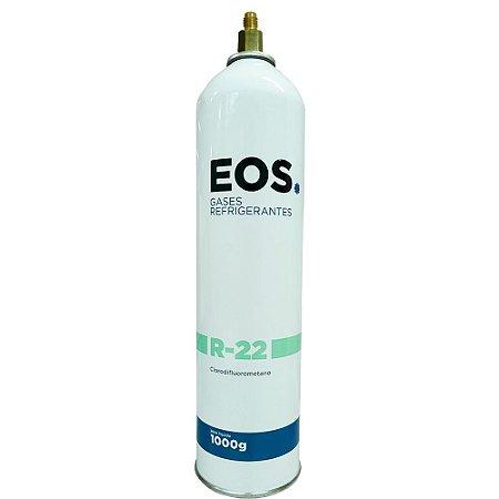 Gás Refrigerante R22 1Kg com Válvula - EOS